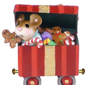 M-453g Christmas Candy Box Car - LIMITED
