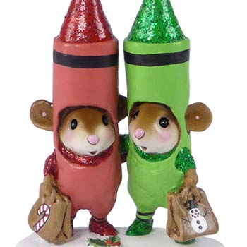 M-533a Christmas Crayons - LIMITED