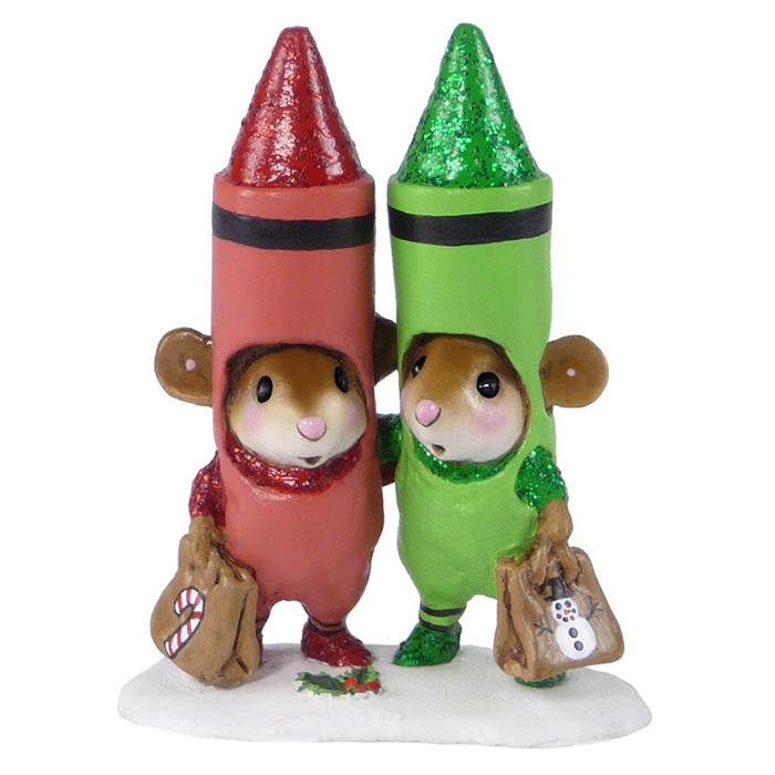 M-533a Christmas Crayons – LIMITED