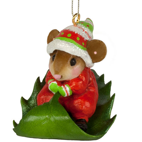 M-629a Holly Express Ornament